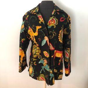 JULY 4th SALE! Vintage Painted Pony Animal Jacket